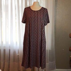 NWT LuLaRoe Jessie dress with pockets, XL